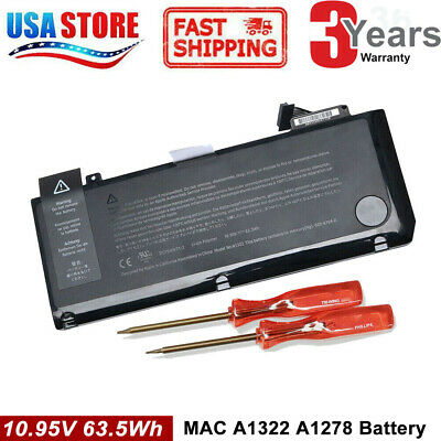 $20.95 • Buy NEW A1322 Battery For Macbook Pro 13  A1278 Mid 2009/2010/2011/2012 TOP Quality