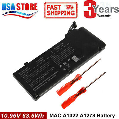 $19.95 • Buy Battery For Apple MacBook Pro 13 Inch A1278 A1322 Mid 2009 2010 Early 2011-12 C