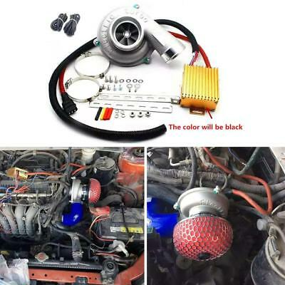 $ CDN658.20 • Buy Car Improve Speed Fuel Saver Electric Turbo Supercharger Kit Air Filter Intake