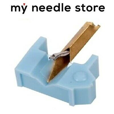 NEW Turntable Needle For SHURE M44 N44-7 M44 MR M55 M80 N44 N44C 4759-D7, Blue • 16.85£