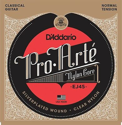 $ CDN12.75 • Buy D'Addario EJ-45 Pro-Arté Normal Tension Classical Guitar Strings