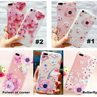 AU9.99 • Buy OPPO RenoZ AX7 5 3s R17 15 Pro 11 9 Plus F1S A73 77 57 Flower Pattern Phone Case