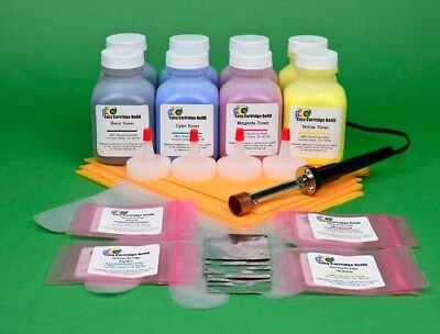 £55.36 • Buy (2) 4-Color Toner Refill W/HM Tool & Chip For Samsung CLP 320 320N 320W 321 321N