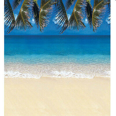Beach Party Wall Decoration Tropical Luau Tiki Photo Backdrop Paper  • 21.39£