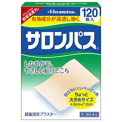 AU19.38 • Buy NEW SALONPAS Pain Relieving Patch 40 / 80 / 120 Patches Hisamitsu Japan