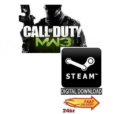 Call Of Duty Modern Warfare 3 PC Steam **FAST DELIVERY** • 29.99£