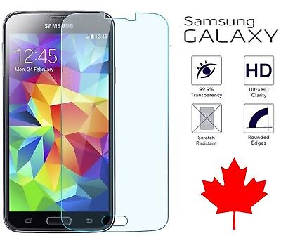 $ CDN3.99 • Buy Tempered Clear Glass Screen Protector For Samsung Galaxy S5 & Neo S6 A5 2017