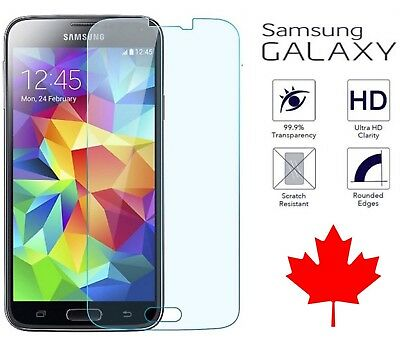 $ CDN2.99 • Buy Tempered Glass Screen Protector For Samsung Galaxy S5 & Neo S6 A5 (2017)