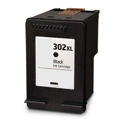 Refilled Ink For HP 302XL Black Ink Cartridge HP 302 XL F6U68AE • 17.84£