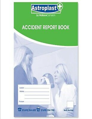 £6.83 • Buy 2 X HSE Accident Injury Report Books School Office Workplace Various Types
