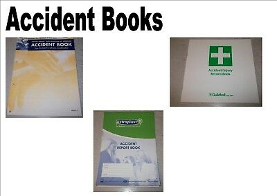 £17.38 • Buy Pack Of 5 HSE Accident Injury Report Books School Office Workplace