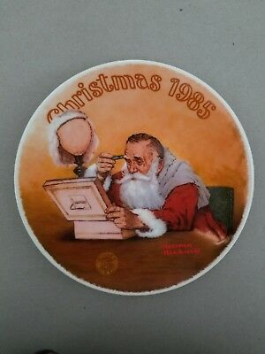 $ CDN13.06 • Buy  Grandpa Plays Santa 1985 Rockwell Christmas Plate