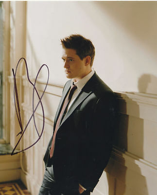 £75 • Buy Michael Bublé In Person Signed Photo - Canadian Singer, Songwriter & Actor-D691
