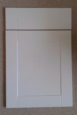 Kitchen Cupboard Doors Shaker High Gloss White To Fit Howdens MFI B&Q Cabinets • 12.58£