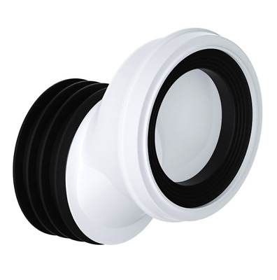 Viva Toilet Pan Connector 40mm Offset Rigid For Use With 4 (110mm) Pipe PP0003/A • 8.49£