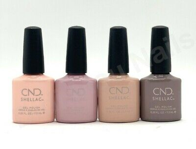 AU18.04 • Buy CND Shellac UV Gel Polish .25 Oz - NUDE COLLECTION  2018 NEW!!
