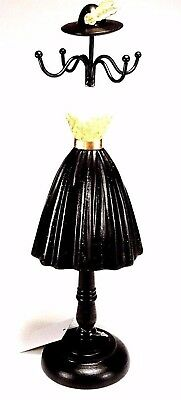 Large 33 Cm Lady Mannequin Jewellery Stand Tree Display Necklace Holder Nr.5 • 16.99£