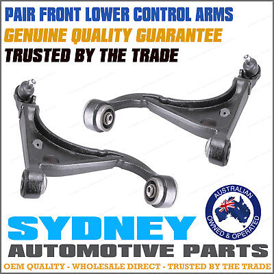 AU166.45 • Buy PAIR Ford Falcon AU 2 BA BF Front Lower Control Arms With Ball Joint /s Bush /s