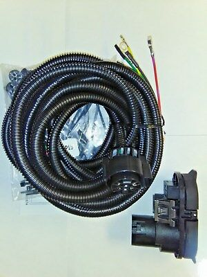 $ CDN126.07 • Buy 82213986AB - Mopar Trailer Tow Wiring Harness (7-way With 4-way Adapter)