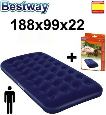 Bestway TUMBONA COLCHON DE CAMPING INFLABLE HORIZON INDIVIDUAL