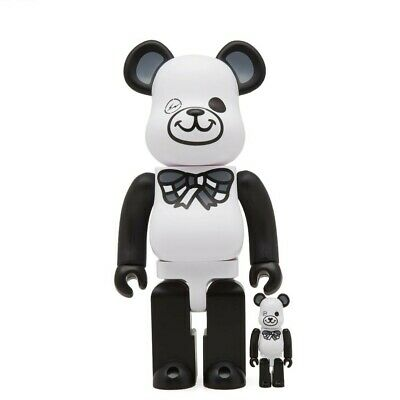 $169.99 • Buy Medicom BE@RBRICK X Freemasonry Fragment Design White 100% 400% Bearbrick Figure