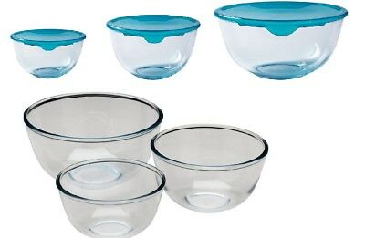 Pyrex Classic Glass Mixing Bowl Ovenproof  Microwave & Dishwasher SAFE • 8.19£