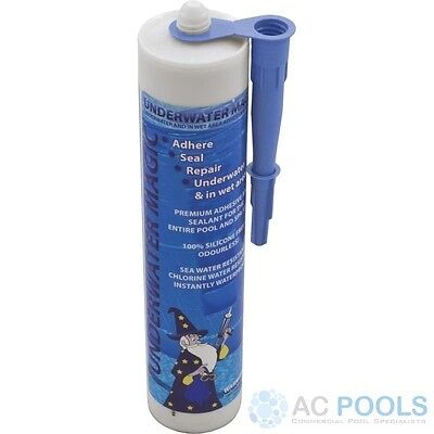 Underwater Magic Adhesive Glue & Sealant (Blue) 290ml Tube For Pool Repair • 44.48£