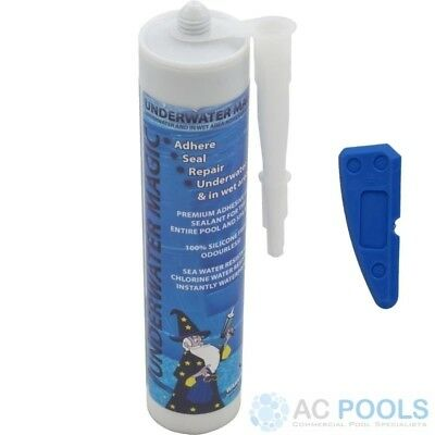 Underwater Magic Adhesive Glue & Sealant (White) 290ml Tube - With Sealant Tool • 45.94£