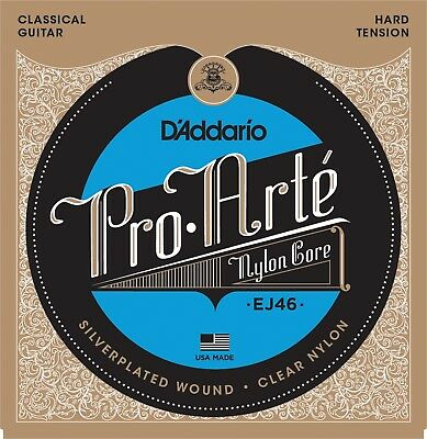 $ CDN12.75 • Buy D'Addario EJ46  Pro-Arté Hard Tension Classical Guitar Strings Nylon