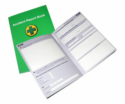 £2.50 • Buy ACCIDENT REPORT BOOK  First Aid School/Office Injury Health Record