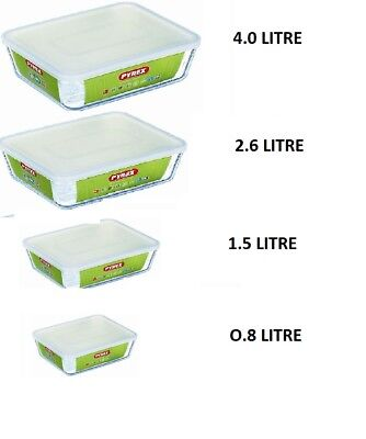 £7.29 • Buy Pyrex Cook& Store Food Rectangular Baking Storage Serving  Dish With Plastic Lid
