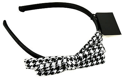 Fashion Hair Band With Checked Bow, Children / Kids / Girls Hair Band • 1.89£
