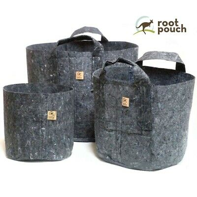 £14.99 • Buy Root Pouch Grey Fabric Rhizo Hydroponic Large Pot - 56L Or 78L