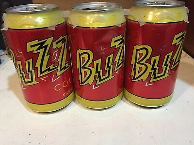 $ CDN36.07 • Buy 3-12oz Can Of Buzz Cola From The Simpsons Movie 7 Eleven Promotion 2008 2 Sealed