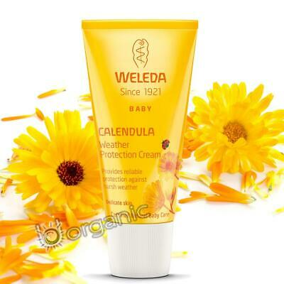 £13.95 • Buy Weleda Organic Calendula Baby Weather Protection Cream 30ml For Delicate Skin