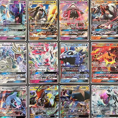 AU23.95 • Buy 100 Pokemon Cards Premium Pack - With GUARANTEED GX +11 Rare & Rev Holos Cards!