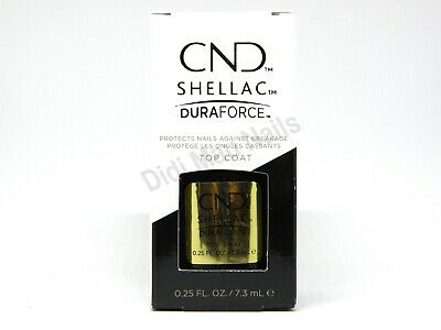 AU16.90 • Buy CND Shellac UV/LED Gel Polish Duraforce Top Coat 0.25oz / 7.3ml