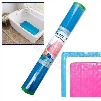 £3.99 • Buy Traditional Non Slip Rubber Bath Mat Suction Cups Shower Grip PVC Strong Soft