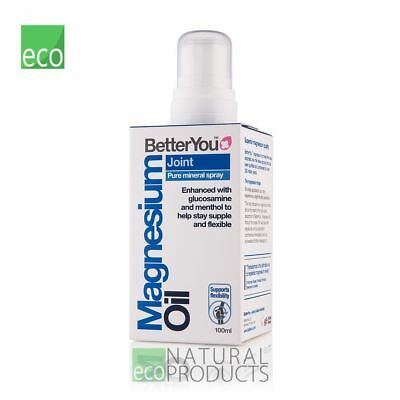 BetterYou Natural Magnesium Oil Joint Spray 100ml • 12.95£