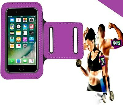For IPhone 5C 5S SE 6 6S 7 8 11 X XS XR Sports Running Jogging Gym Armband Case • 2.24£