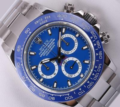 $ CDN27859.50 • Buy Rolex Daytona Chrono 116520 Stainless Steel 40mm Watch-Blue Dial-Blue Ceramic