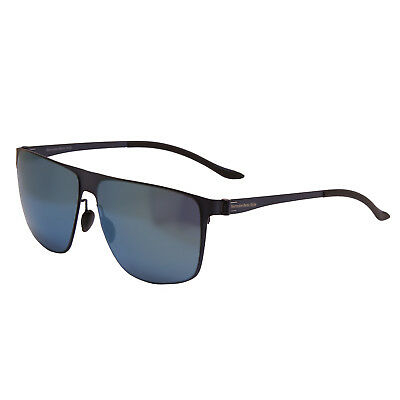 Mercedes Benz - Blue Rectangular Classic Sunglasses With Case • 80£