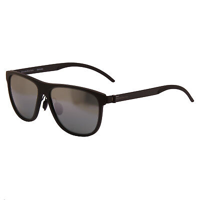 Mercedes Benz - Matt Black Classic Mirror Sunglasses With Case • 70£