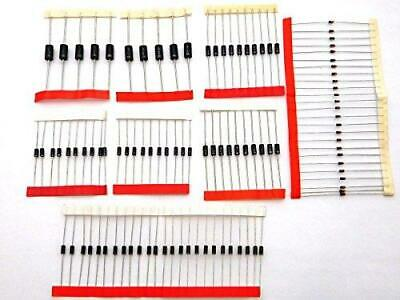 $ CDN5.38 • Buy 100 X Diodes Kit 1N4007 1N5819 1N4148 1N5399 1N5408 FR107 1N5822 FR207