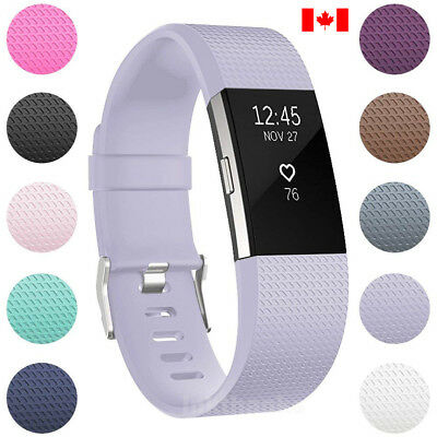 $ CDN8.45 • Buy For Fitbit Charge 2 Replacement Smart Watch Strap Bracelet WristBand Small Large