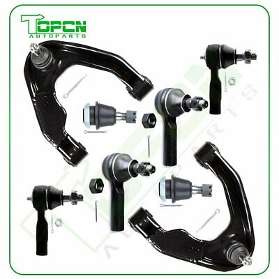 $94.31 • Buy For Nissan Frontier & Xterra 8Pcs Front Upper Control Arms Ball Joints Tie Rods
