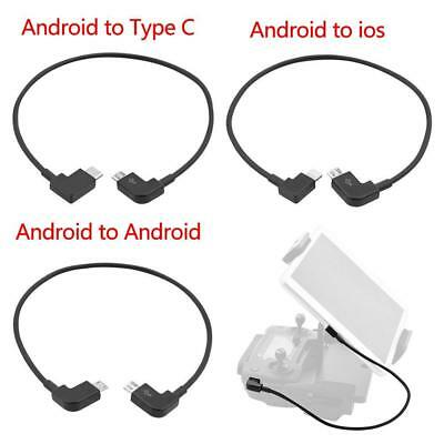 AU5.45 • Buy OTG Micro Type-C USB Cable IPhone IOS Andriod For DJI Spark/Mavic Pro RC W/ A1W4