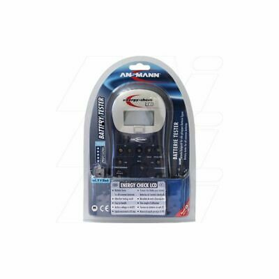 AU94.90 • Buy AnsmannUniversal Battery Tester Energy Check LCD Battery Test Station