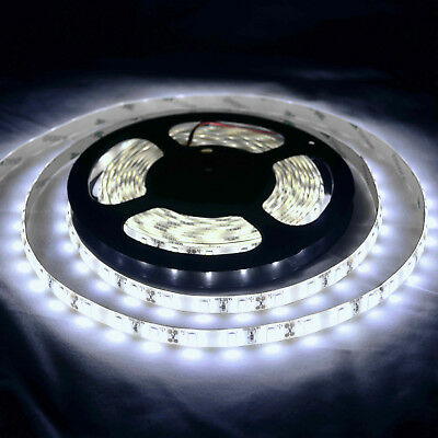 AU15.99 • Buy Waterproof Cool White 12V 5M 5630 SMD 300 Leds LED Strip Lights Car Boat Caravan