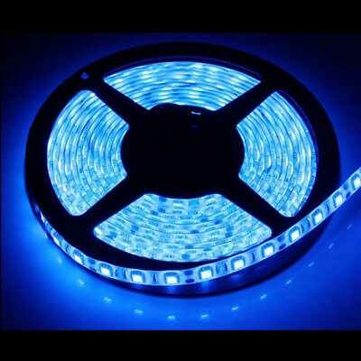 AU14.99 • Buy Waterproof Blue 12V 5M 5050 SMD 300 Leds LED Strip Lights Car Boat Caravan